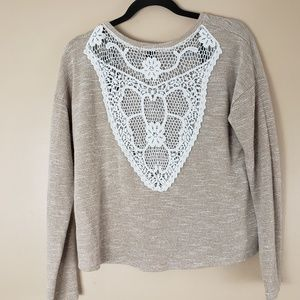 Forever 21 Tops - Forever 21 Top Lace Back Size Large B15